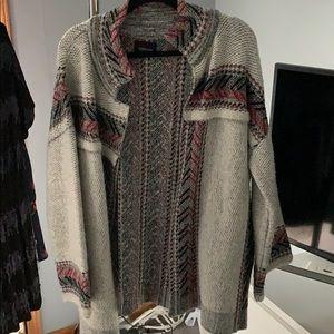 Zara oversized cardigan/coat